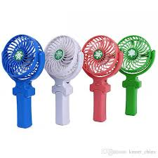 handheld fans handy usb fan foldable handle mini charging electric fans