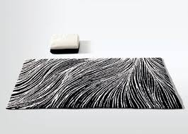 Modern Black And White Rugs Black And White Bathroom Rugs Home Design Ideas And Pictures