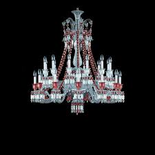 Baccarat Chandelier Chandelier Clear And 24l Baccarat Zenith 2807449