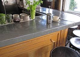 Bar Counter Top Zinc