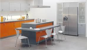 ilot pour cuisine cuisine ilot central table manger maison design bahbe com