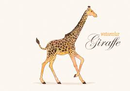 giraffe print free vector art 3007 free downloads