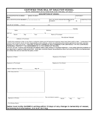 2017 watercraft bill of sale form fillable printable pdf
