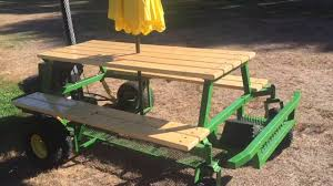 Plans For Making A Round Picnic Table by My Gas Picnic Table Walk Around Youtube