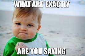 Exactly Meme - what are exactly are you saying meme success kid original 74176