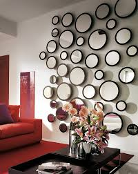 fresh decorating with mirrors behind sofa 354