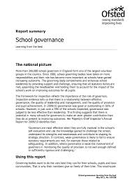 Summary For Job Resume by Latest Report Summary On Governance