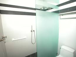 Frosted Glass Shower Door by Bathroom Shower Doors Glass Frameless Shower Glass Panel Valiet