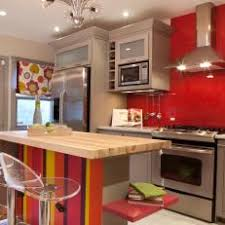 Kitchen With Red Appliances - red eclectic kitchen photos hgtv