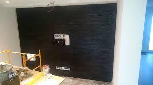 wohnzimmer fernsehwand multimedia wohnzimmer mit naturstein verblender selber bauen