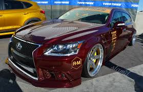 lexus sema 2016 sema 2016 the big five 0 u2013 slam u0027d mag