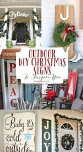 christmas signs outdoor christmas sign ideas landeelu