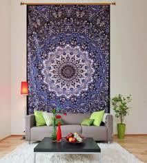 Wall Tapestry Hippie Bedroom Star Mandala Tapestry Star Mandala Wall Hangings