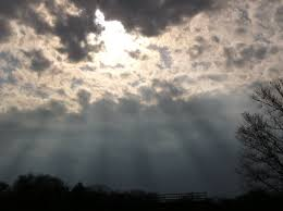 the sun s rays shining through the clouds 3 30 16