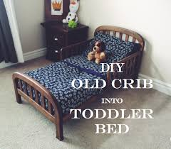 When To Turn Crib Into Toddler Bed Do It Yourself Divas Diy Crib Into Toddler Bed