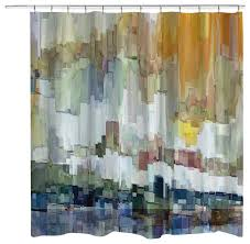 glacier bay shower curtain contemporary shower curtains by