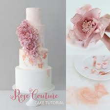 wedding cake tutorial couture cake tutorial zoe clark cakes