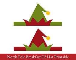 elf hat printable elf printable christmas printable with christmas