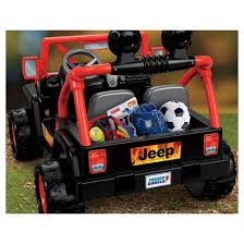 Black And Jeep Fisher Price Power Wheels Tough Talking Jeep Black Orange Target