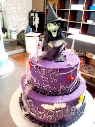 Halloween Witch Cake by 2 Tier Wicked Chocolate Cake Iced In Purple Butter Icing D U2026 Flickr
