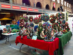 wreath display booth ideas craft fairs and wreaths