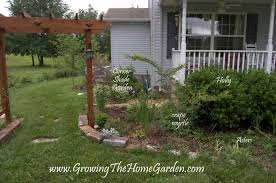 Front Entrance Landscaping Ideas Front Porch Modern Front Porch Decoration With Brown Wooden