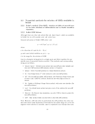 resume objective for students exles of ode numerical solutions to ordinary differential equations in scilab