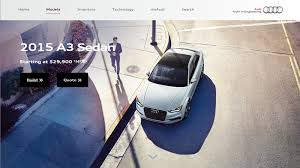 audi usa build understanding 5 types of landing pages and their use for business