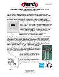 Total Comfort Control Advanced Temperature Control Systems Indeeco