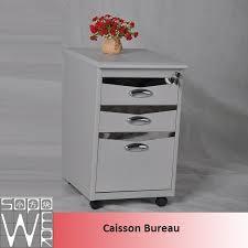 caisson bureau blanc laqué caisson bureau metal alinea blanc laqué discount classeur à tiroir