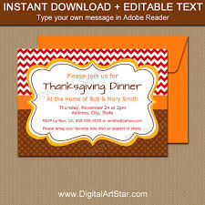 thanksgiving invitation template thanksgiving birthday