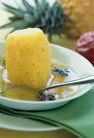 cuisine au gingembre recette ananas au sirop de fruits de la et gingembre