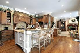 2 level kitchen island 2 level kitchen island ideas natural wood kitchen with white island