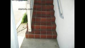 Brick Stairs Design Build Paver Steps Exterior Cost To Replace Concrete Front Slippery