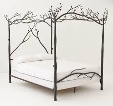 unique wrought iron canopy bed u2014 vineyard king bed decoration