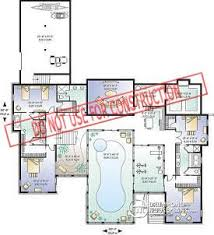 indoor pool house plans luxury ranch house plans with indoor pool adhome