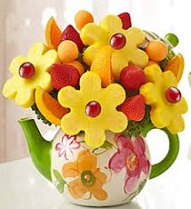 edibles fruit baskets time for tea fruit bouquet edible fruit arrangment in arlington