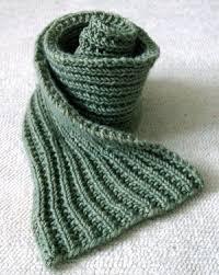 easy mistake stitch scarf allfreeknitting