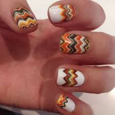 top 14 fall pattern nails for thanksgiving best new simple home