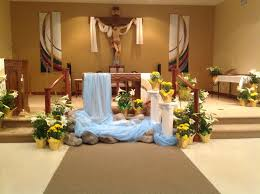 Religious Easter Decorations Ideas by Easter Church Decorations Church Easter Altar Decorations Catholic