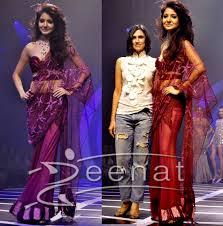 dhaka sarees anushka sharma rina dhaka s saree style zeenat style