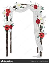 wedding arch leaves beautiful wedding arch flowers leaves branches vintage floral