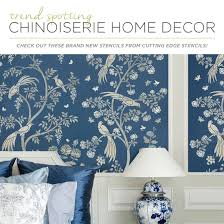 home decor stencils trend spotting chinoiserie home decor stencil stories stencil stories