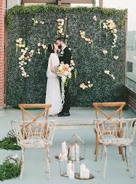 wedding altar backdrop beyond the bouquet 4 unique flower wedding decor ideas