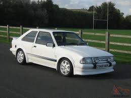 Ford Escort 1983 Escort Series 1 Rs Turbo Google Search Carros Pinterest