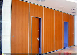 Retractable Room Divider by Movable Partition Folding Acoustic Room Dividers Sound Proof Wall