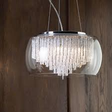 Wooden Panelling by Large Ceiling Pendant Luxurious Lighting Lifestyle Wooden