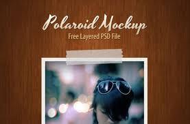 design templates photography free photo frame mockups free polaroid psd mockup