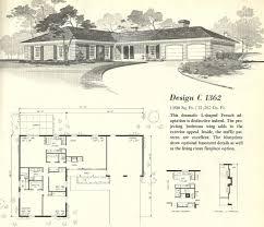 modern ranch floor plans baby nursery mid century modern ranch house plans mid century