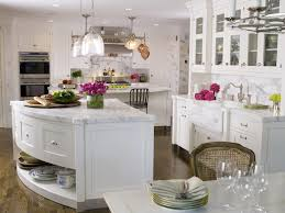 curved kitchen island transitional kitchen st charles of